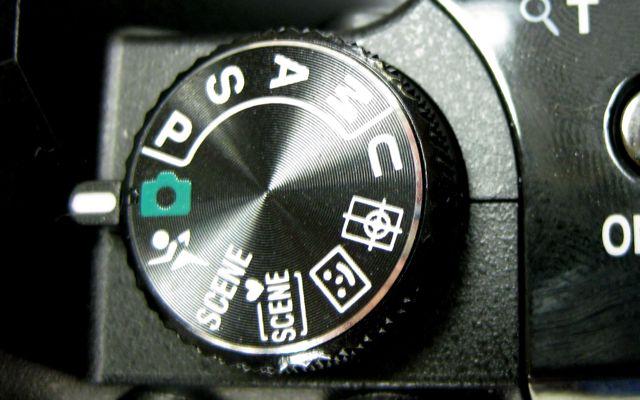 P100 Mode Dial